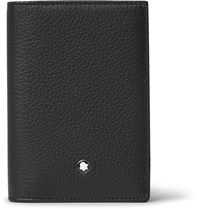 Montblanc Meisterstuck Trifold Full Grain Leather Cardholder Black