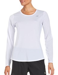 New Balance Performance Top White
