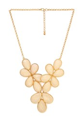 Forever 21 Flirty Floral Bib Necklace