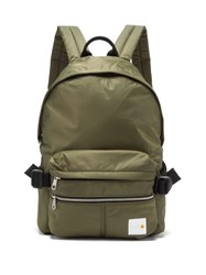 A.P.C. X Carhartt Nylon Backpack Khaki