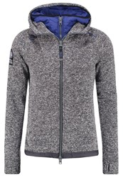 Superdry Storm Blizzard Tracksuit Top Charcoal Grit Mottled Grey