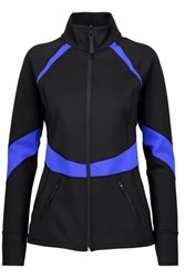 Purity Active Two Tone Stretch Jacket Black