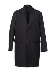 Plac Overcoats Dark Blue