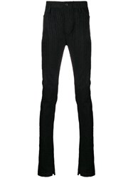 Lost And Found Ria Dunn Darted Slim Fit Trousers Black