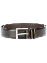 Orciani Classic Belt Brown