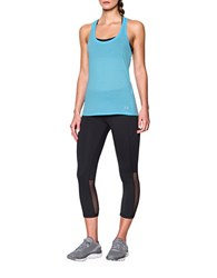 Under Armour Streaker Moisture Wicking Active Tank Top Brown
