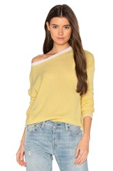 Charli Clarisse Stripe Sweater Yellow