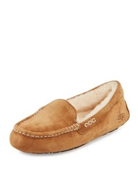 Ugg Ansley Moccasin Slipper Chestnut