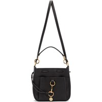 See By Chloe Black Large Tony Bucket Bag