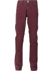 3X1 'M3' Slim Fit Jeans Pink And Purple
