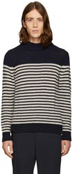 A.P.C. Navy Haddock Turtleneck