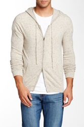 Autumn Cashmere Cashmere Hooded Sweater Gray