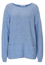 Betty Barclay Long Jumper With Pockets Blue