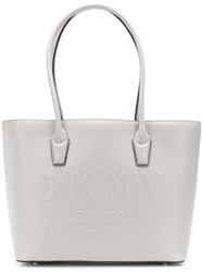 Dkny Hutton Large Tote Grey