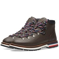 Moncler Peak Leather Hiking Boot Brown