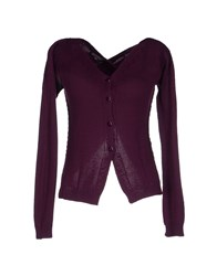 Terre Alte Knitwear Cardigans Women Deep Purple