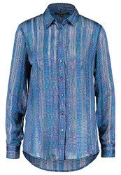 Banana Republic Dillon Shirt Royal Blue