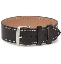 Tom Ford Leather Watch Strap Black