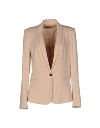 Soallure Suits And Jackets Blazers Women Sand