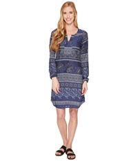 Aventura Clothing Serafina Dress Blue Indigo