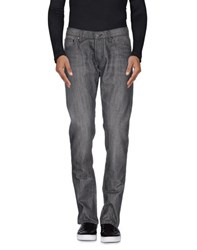 Paolo Pecora Denim Denim Trousers Men Grey