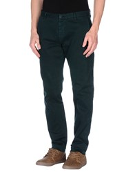 Officina 36 Trousers Casual Trousers Men Deep Jade