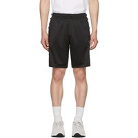 Champion Reverse Weave Black And White Tearaway Shorts
