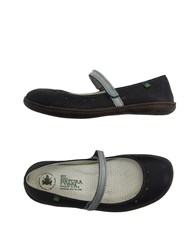 El Naturalista Footwear Ballet Flats Women Steel Grey