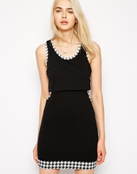 Pencey Standard Overlay Dress With Cut Out Detail Black