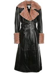 Fleur Du Mal Two Tone Combined Trench Coat 60
