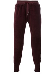Blood Brother Vulcan Joggers Red