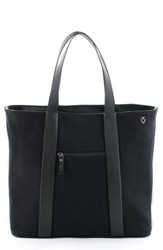 Vessel 'Signature' Leather Tote Bag Black