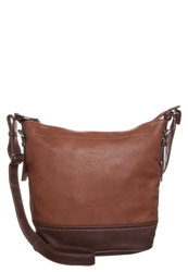 Tom Tailor Ciara Across Body Bag Brown Cognac