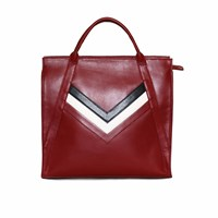 Mei Vintage The Abby Tote Ruby Large Red