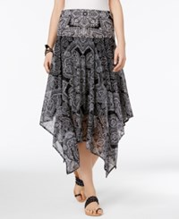Inc International Concepts Convertible Printed Skirt Only At Macy's Celestial Paisley