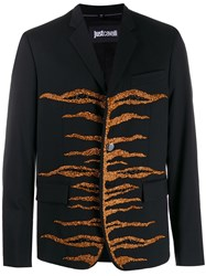Just Cavalli Embellished Blazer Black