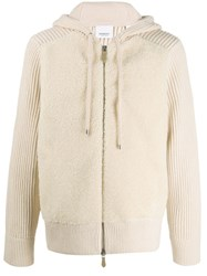 Burberry Ribbed Contrast Chest Hoodie 60