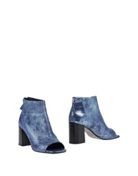 Laura Bellariva Ankle Boots Pastel Blue