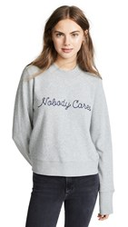Nobody Denim Cares Favoutire Sweatshirt Cinder
