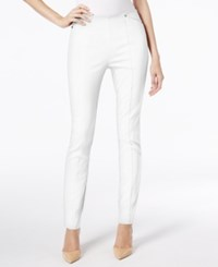 Alfani Petite Pull On Skinny Pants Only At Macy's Bright White