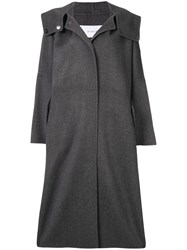 Le Ciel Bleu Hooded Oversized Fit Coat 60