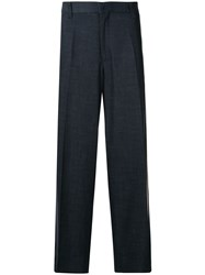 Coohem Long Straight Leg Side Stripe Trousers 60