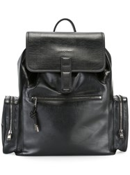 Christian Dior Homme Cargo Pocket Backpack Black