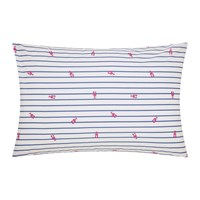 Joules Orchard Ditsy Pillowcase Blue Yonder