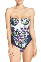 Ted Baker Women's London Enchantment Underwire One Piece Swimsuit