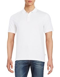 Black Brown Ice Cotton Polo Ivory