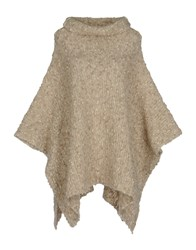 Seventy By Sergio Tegon Capes And Ponchos Beige