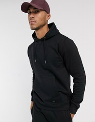 Soul Star Mix And Match Overhead Sweatshirt In Black