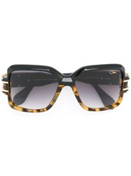 Cazal Square Sunglasses Black