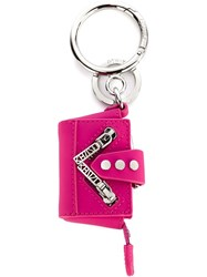 Kenzo 'Kalifornia' Back Keyring Pink And Purple